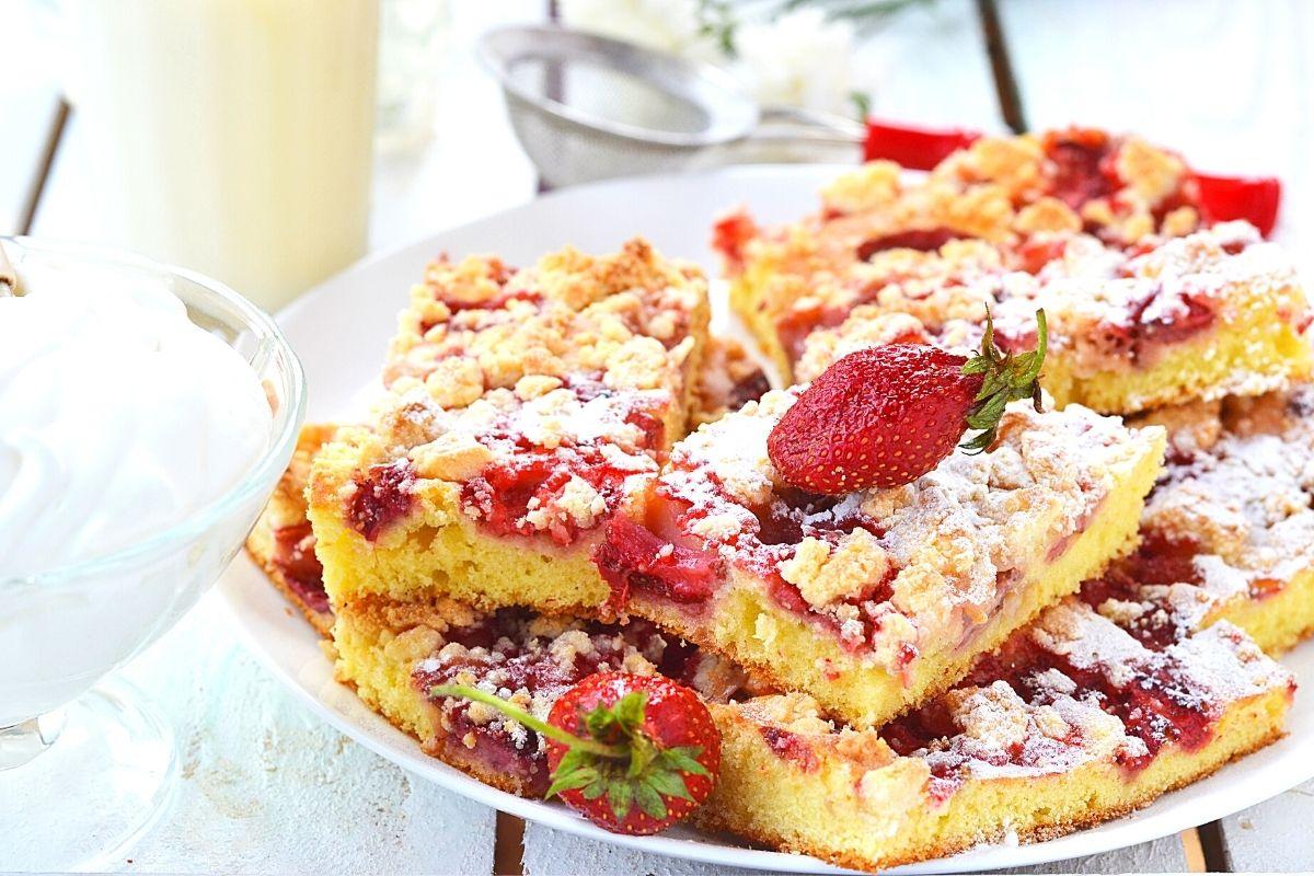 Jahodový koláč | Canva